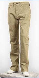 リーバイス 505 フィット レギュラーストレート サーモライト ストレッチデニム カーキ Levi's Warm Jeans 00505-1428