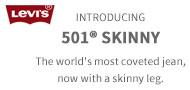 リーバイス・501 Skinny