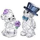 SWAROVSKI Swarovski Crystal figure クリスベア you and me (You and I) #1096736