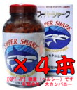 Ships within 3 business days! ( 1,620 Yen in 60 grain bulking ) 700 grain super shark x 4 book set country ヨシキリサメ cartilage! SUPER SHARK