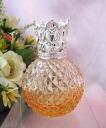 3 Mini aroma lamp (mini aroma pot) diamond x ショートティアラ gradient Orange / silver N006GORSTS