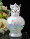 Translation available mini aroma lamp (mini aroma pot) アンジュク rail Mermaid white silver FH108WS