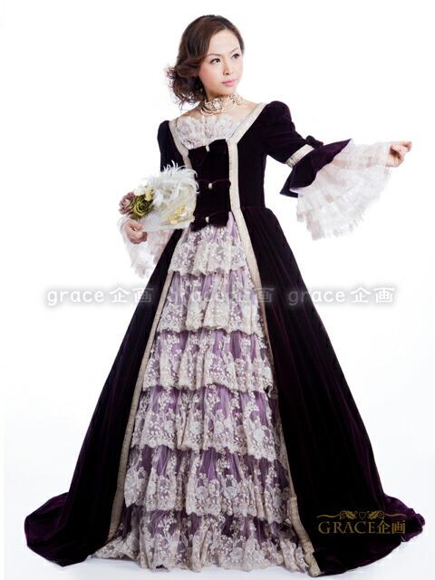 ウェディングドレス・カラード ...