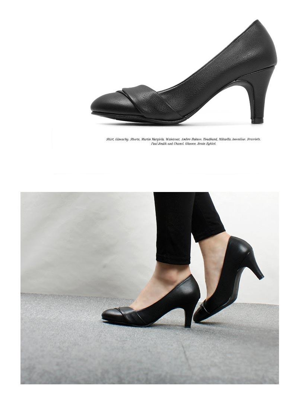 配送員設置☆大きなサイズ靴 レディース 大きいサイズ フラット エナメル パンプス (25.0cm