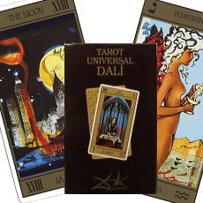 20世紀を代表する天才画家ダリのタロットカード
