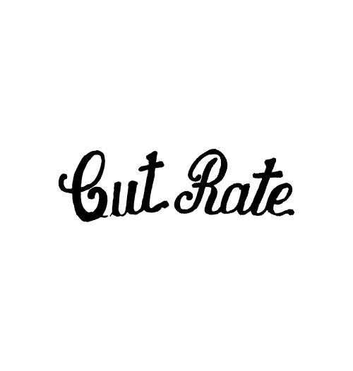 CUT-RATE(カットレイト)ブランドロゴ