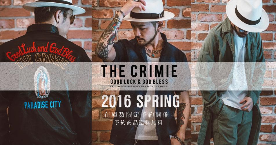 CRIMIE2016春夏