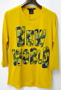KIIT ( Quito ) 7 minutes sleeve print Chateau YELLOW 2.