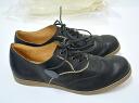 SAK ( Saku ) Onepiece Calf Leather Shoes Wingtip (Black) pair scarf leather wing tip shoes RYUSAKU HIRUMA 41