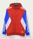 adidas (adidas) Teorado Reversible Windbreaker JKT RED Reversible Windbreaker