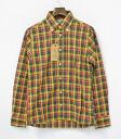Gauntlets (Gantt let's) CHECK B.D.SHIRT YELLOW S check button-down shirt