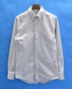 JACK SPADE (Jack of Spades) GRADY OXFORD SHIRT GREY XS long sleeves shirt