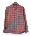 BASIC KATO (Kato Basic) CHECK COTTON SHIRTS cotton check shirt S RED×GREEN 14SS 05P04Jul15