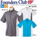 Founders mens Golf are absorption sweat drying half map high neck short sleeve shirt FC-4167S 2013 spring summer new model.