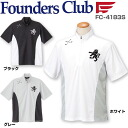 Founders Club men's Golf are half zip shirt FC-4183S 2014 spring summer models.