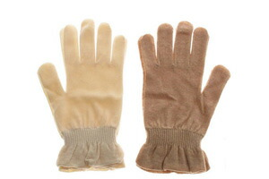 UV cut gloves (beauty treatment salon)