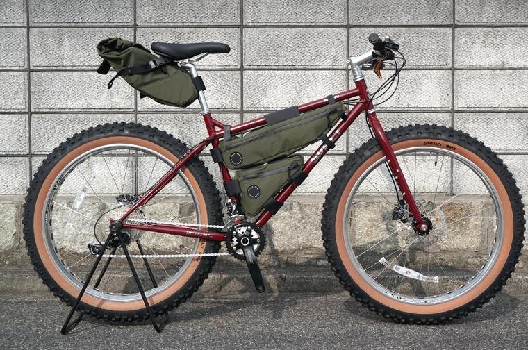 自転車の 自転車 バッグ フレーム : Frame Bag フレームバッグ 自転車 ...