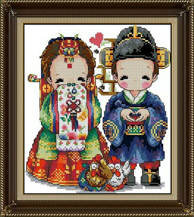... ビーズ ストーン画 韓国結婚式