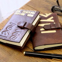 / Made in Italy / leather diary cover /SS size/diary with / products-:off-ra100-iku-oro-antique