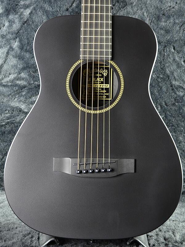 Martin LX Black Little Martin 3/4 Size Travel Acoustic