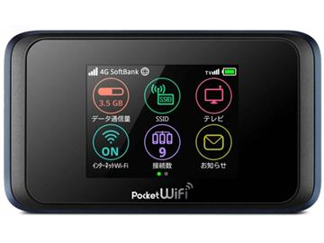 Pocket WiFi 502HW