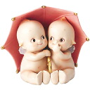 [Rose O'Neill Kewpie] pair dolls / Rainy Day