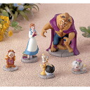 "Miniature garden figure skating set ""Beauty and the Beast"""