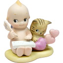 "[Rose O'Neill Kewpie] Message Kewpie ""Little Writer"""