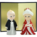[Rose O'Neill Kewpie] Wedding Bridal Kewpies in Kimono Japanese dress