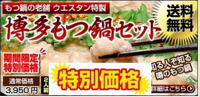 【送料無料】博多もつ鍋セット