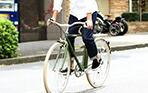 LINUS BIKES(ライナスバイク)のクロスバイク、ROADSTER SPORT(ロードスタースポーツ) クラシックな内装3段のクロスバイク!