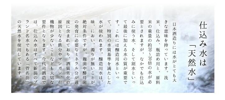 新潟県 今代司酒造