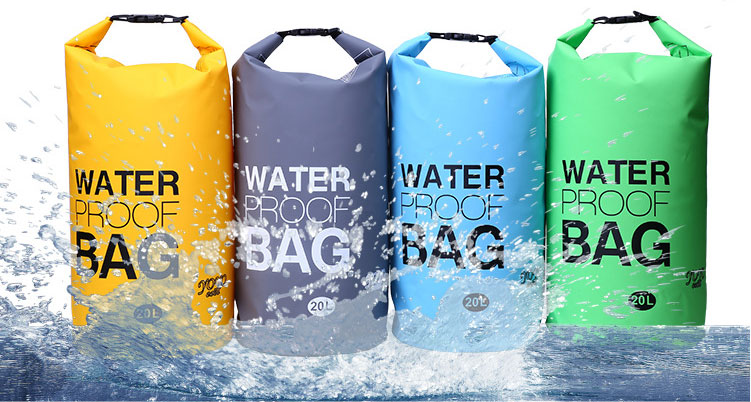 防水バッグ 20L 全6色