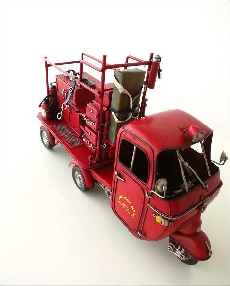 废旧物品手工制作消防车