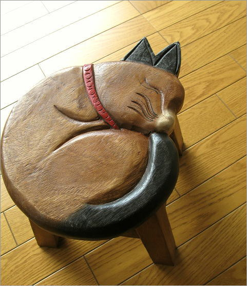 子供椅子 まる丸ネコさん(2)