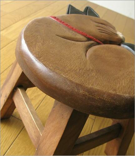 子供椅子 まる丸ネコさん(3)