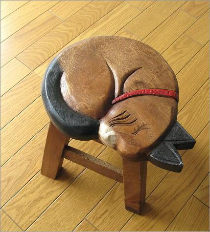 子供椅子 まる丸ネコさん(5)