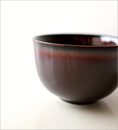 煎茶碗 うるし釉(2)