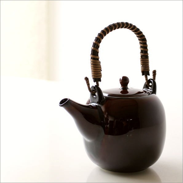 土瓶 うるし釉(1)
