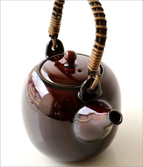 土瓶 うるし釉(2)
