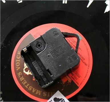 アナログレコードの掛け時計 3タイプ(3)