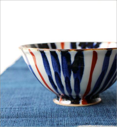 飯碗 染付濃十草 2カラー(3)