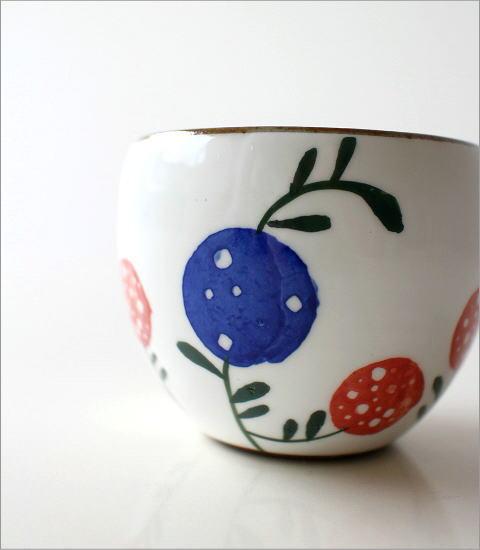 粉引 花の実 丸煎茶(2)