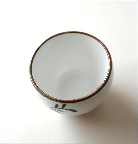 粉引 花の実 丸煎茶(3)