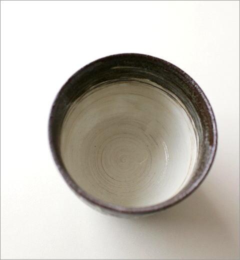 煎茶碗 うさぎ(黒)(3)