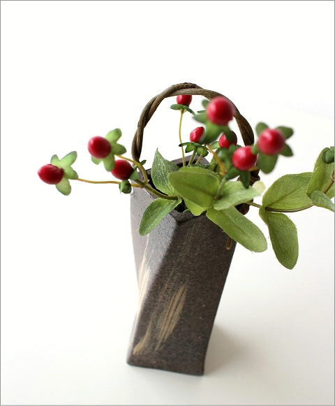 和陶器ベース 角ひねり 大(1)