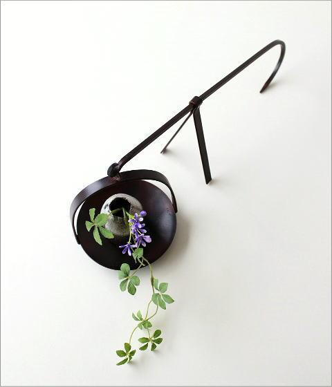 和陶器ベース 手持ちハンギング(4)