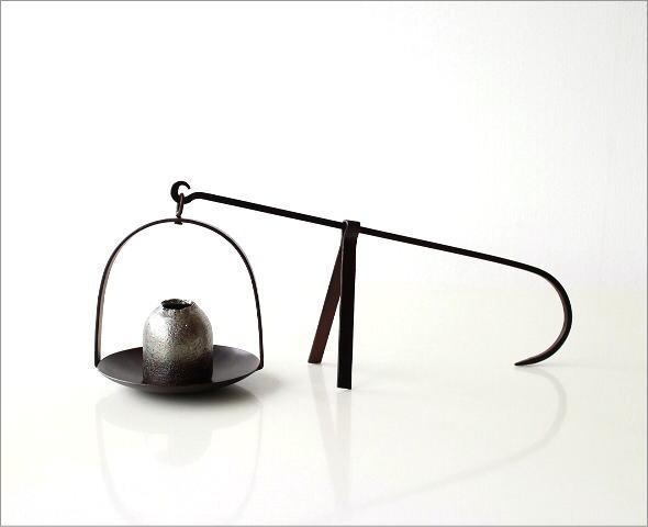 和陶器ベース 手持ちハンギング(5)