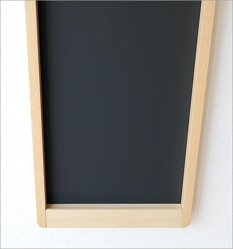 ナチュラルウッドの黒板 縦型(3)
