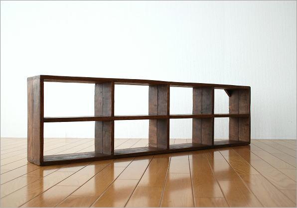 木制货架墙仿古复古时尚壁挂式托架 cd 机架装饰货架 displaylack orp